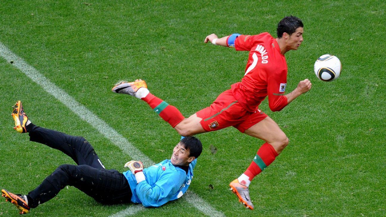 efcf905fa Top 10 World Cup memories  No. 9 - Portugal 7 North Korea 0