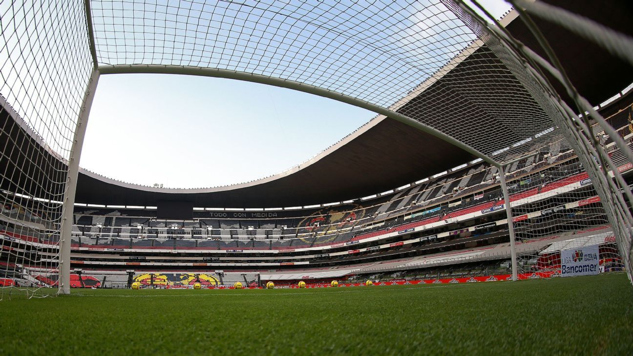 Image result for estadio azteca porterías