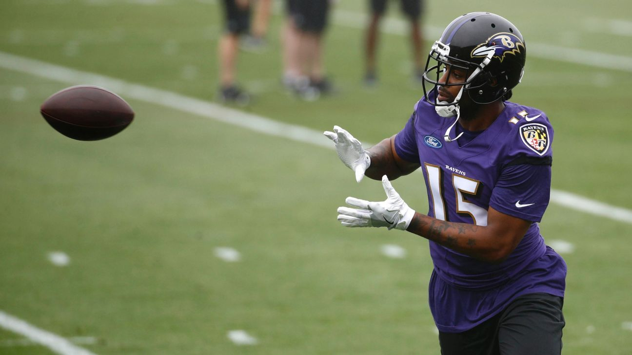 Joe Flacco Believes Michael Crabtree Is The Guy For Ravens Afc