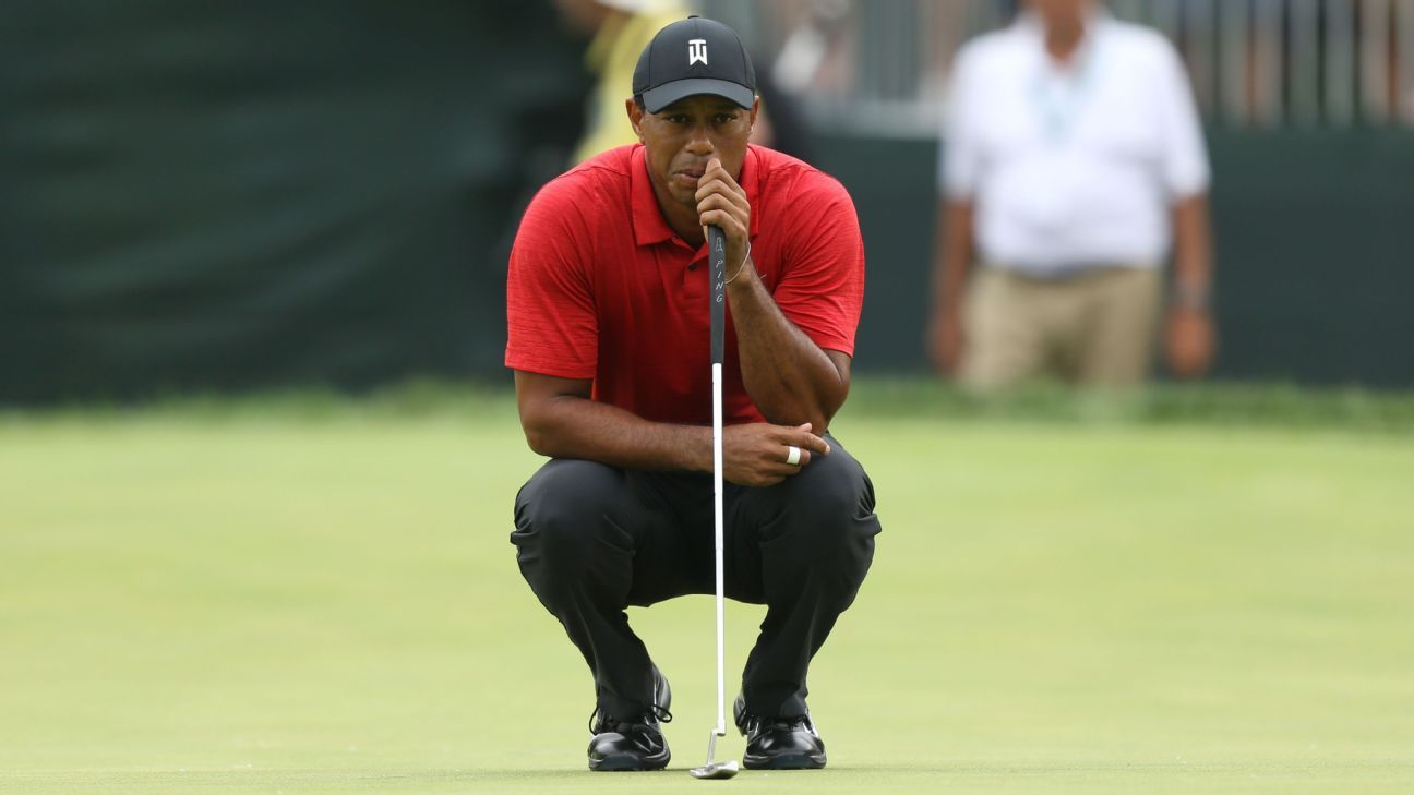is the u s  open the one major championship tiger woods