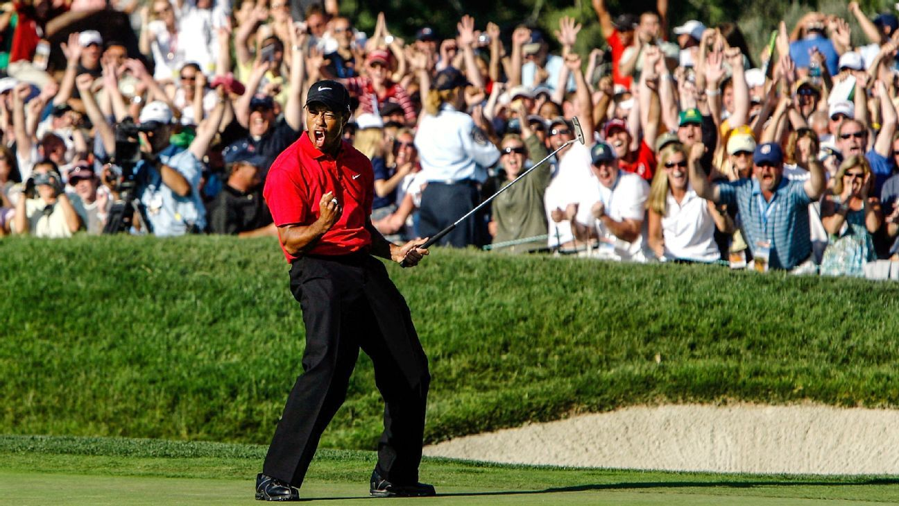 1ff2e387 U.S. Open 2018 - Ten years later, players, caddies, observers still marvel  at Tiger's 2008 win