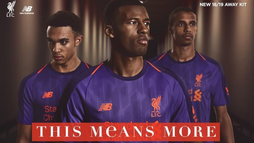 730cf4b8 Liverpool's new kits include 'vivid cactus' for goalkeepers