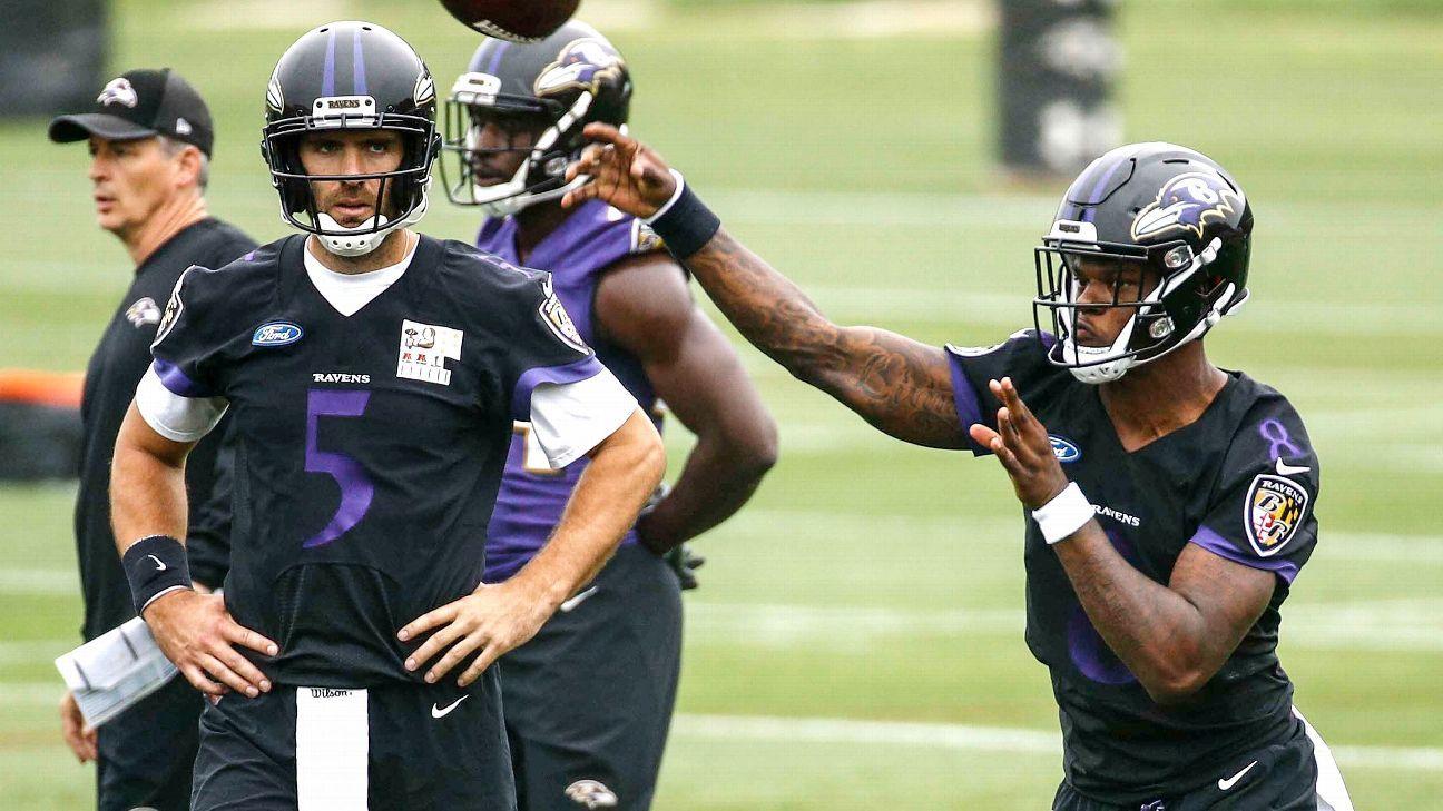 Ravens put focus on offense in critical season for Joe Flacco - Baltimore  Ravens Blog- ESPN 06149e2cc
