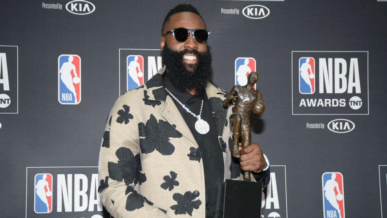 1f6bb2c198c5 NBA handing out MVP