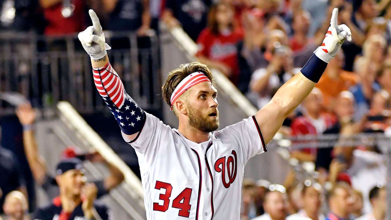 335a6a53a15 Bryce Harper of Washington Nationals captures Home Run Derby crown in D.C.