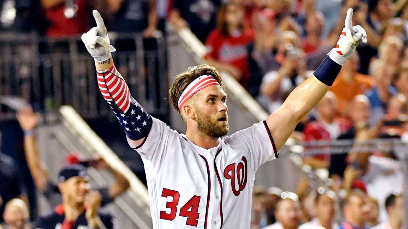 17c57337781 Bryce Harper of Washington Nationals captures Home Run Derby crown in D.C.
