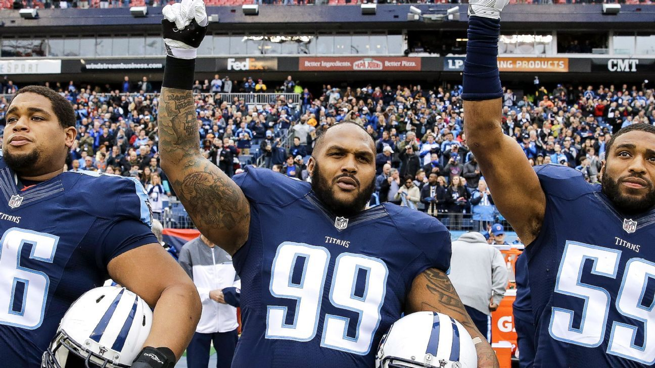 Tennessee Titans DL Jurrell Casey to protest despite NFL s new anthem policy 0a8d15bb3