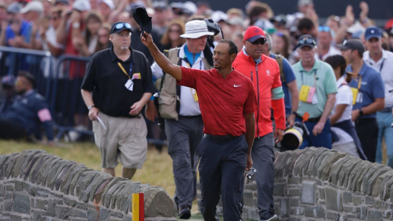 2018 open tiger woods didn u0026 39 t win the open but announced he