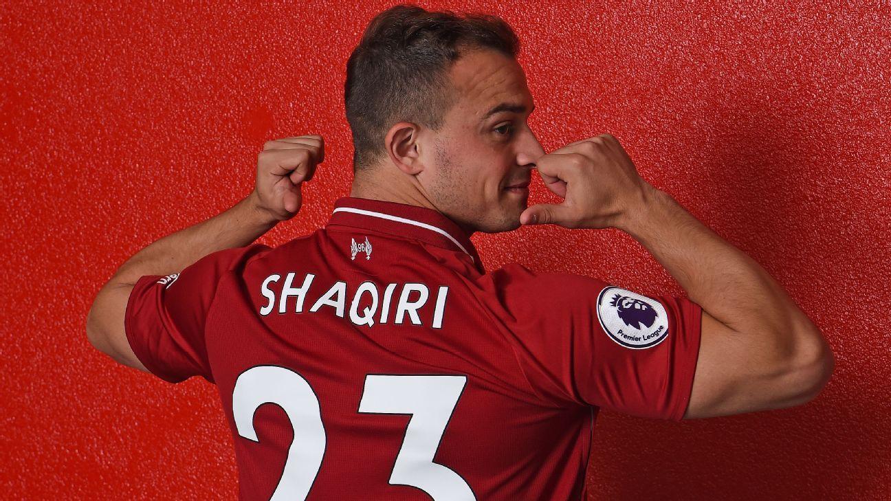 best loved d656c 9d563 Liverpool's Xherdan Shaqiri insists he has nothing to prove ...
