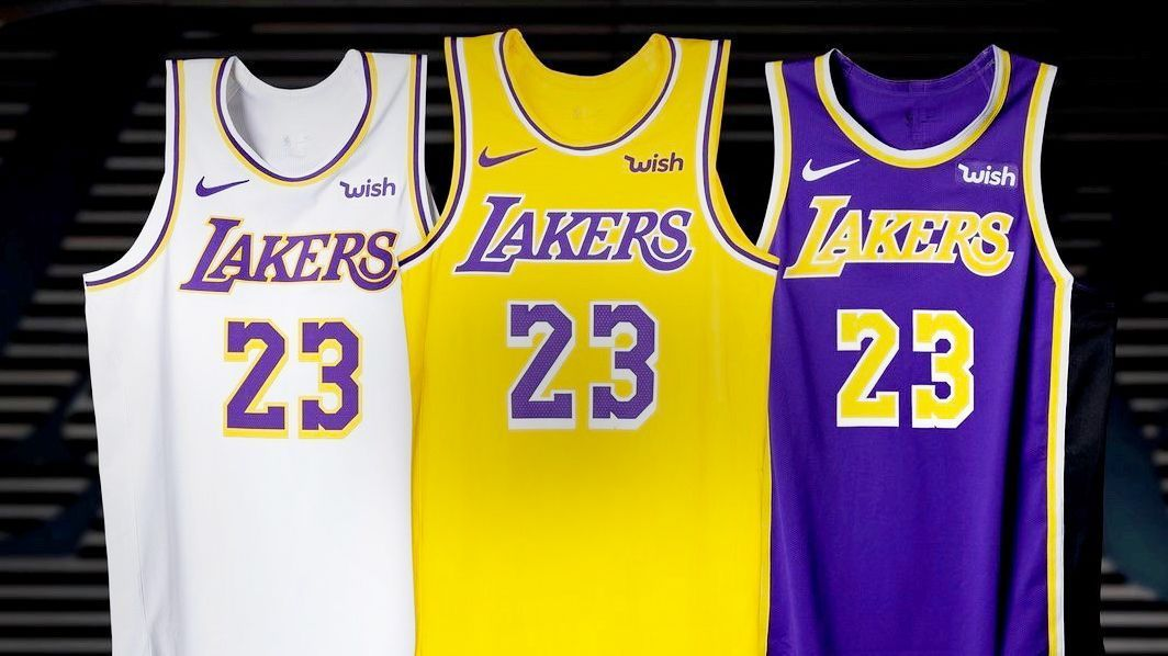 Uni Watch - Los Angeles Lakers bring back Showtime with latest jersey  updates ac16a4f2f608