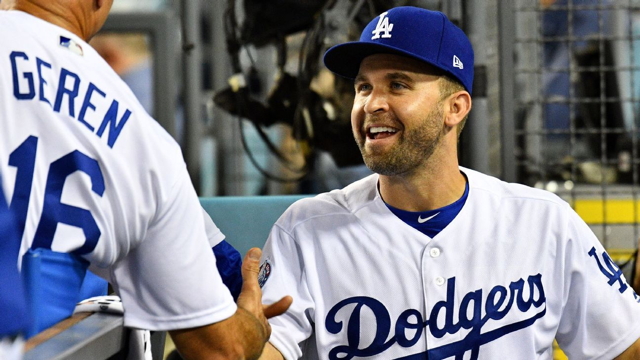 sports shoes 857fb 5c907 Los Angeles Dodgers' Brian Dozier has abnormal EKG according ...
