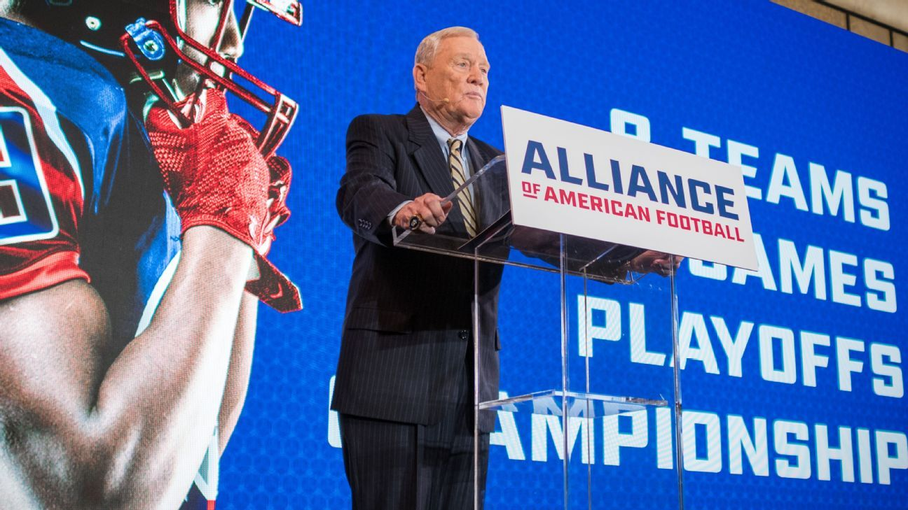AAF suspends operations; Polian 'disappointed'
