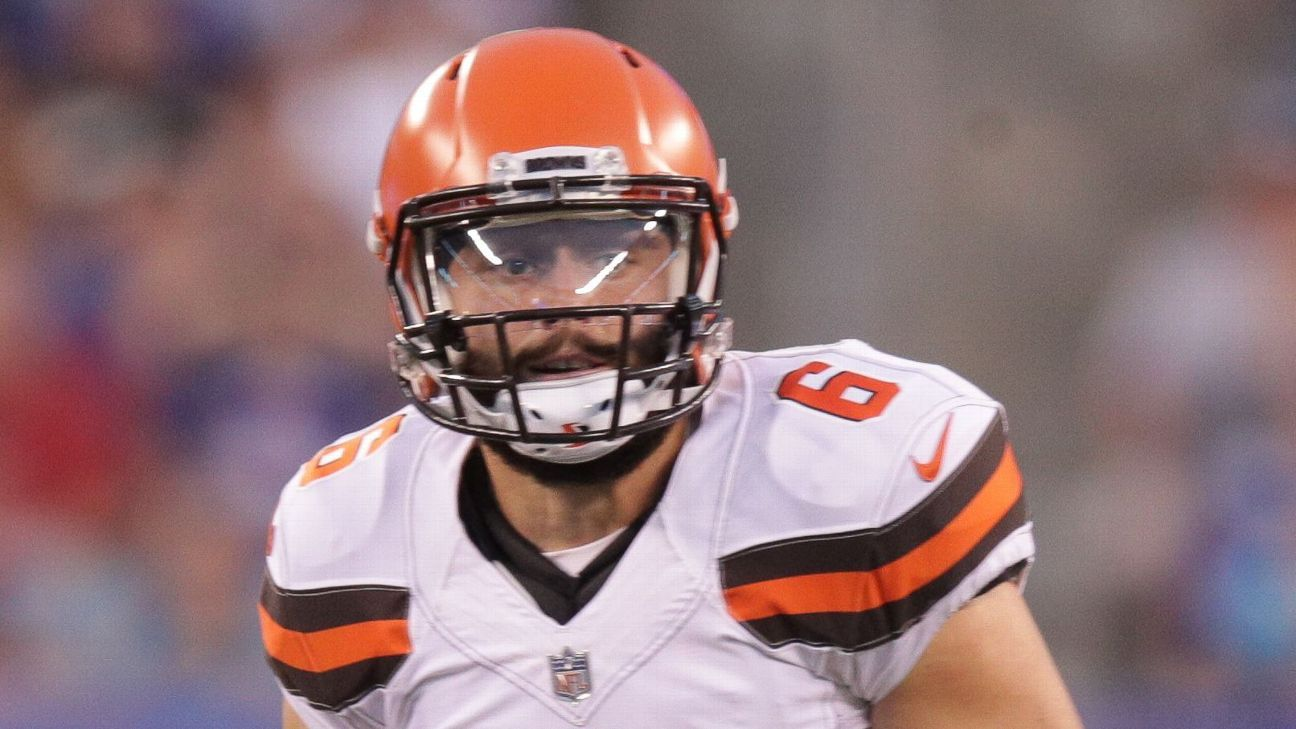84277762 Baker Mayfield of Cleveland Browns says preseason debut performance ...