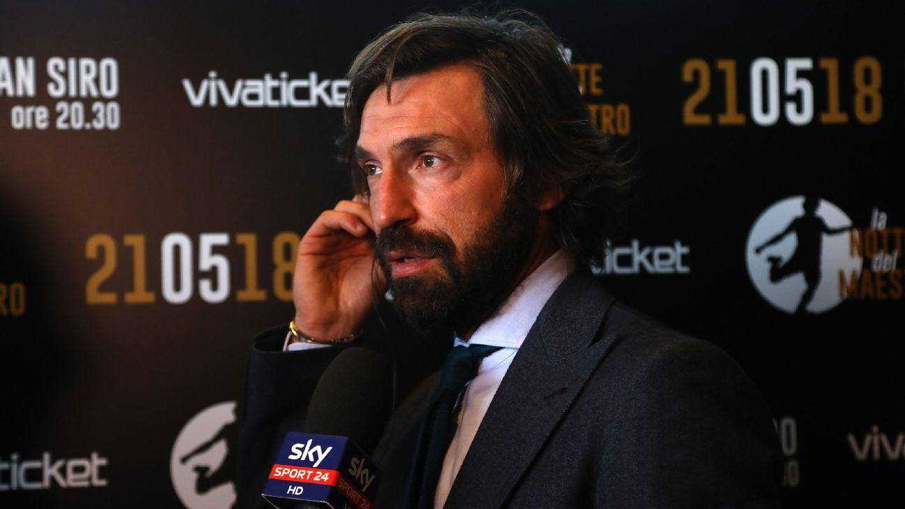 Andrea Pirlo replaces Maurizio Sarri as Juventus manager - ESPN