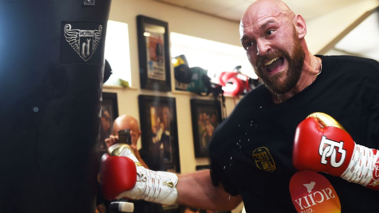 Tyson Fury: 'If I can defeat depression, I can defeat anything.'