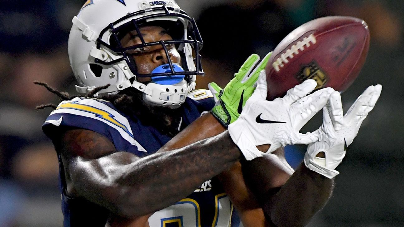 L.A. Chargers Mike Williams now red zone target ... and fantasy value - AFC  West- ESPN 251104e20