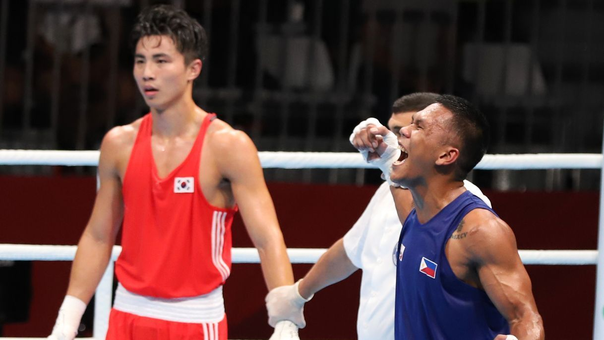 Eumir Marcial finishes with silver at AIBA World Boxing Championships