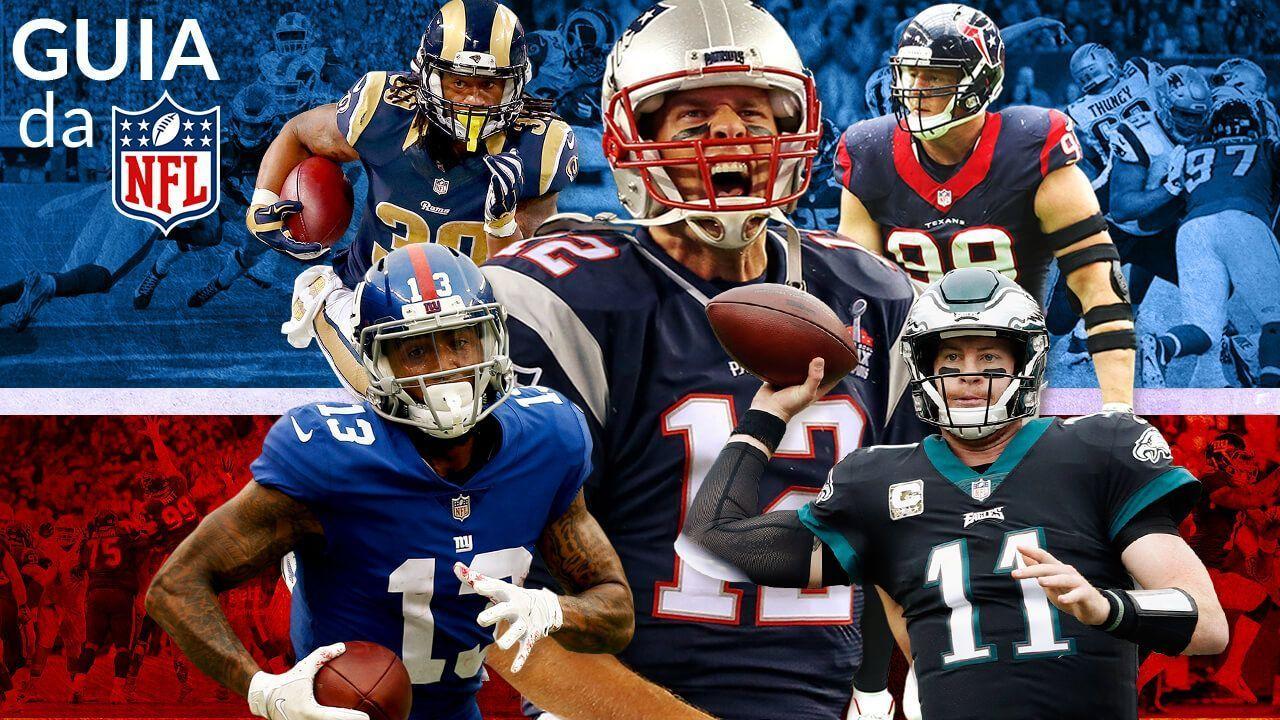 NFL 2018  O guia definitivo para a nova temporada cd6678b857349