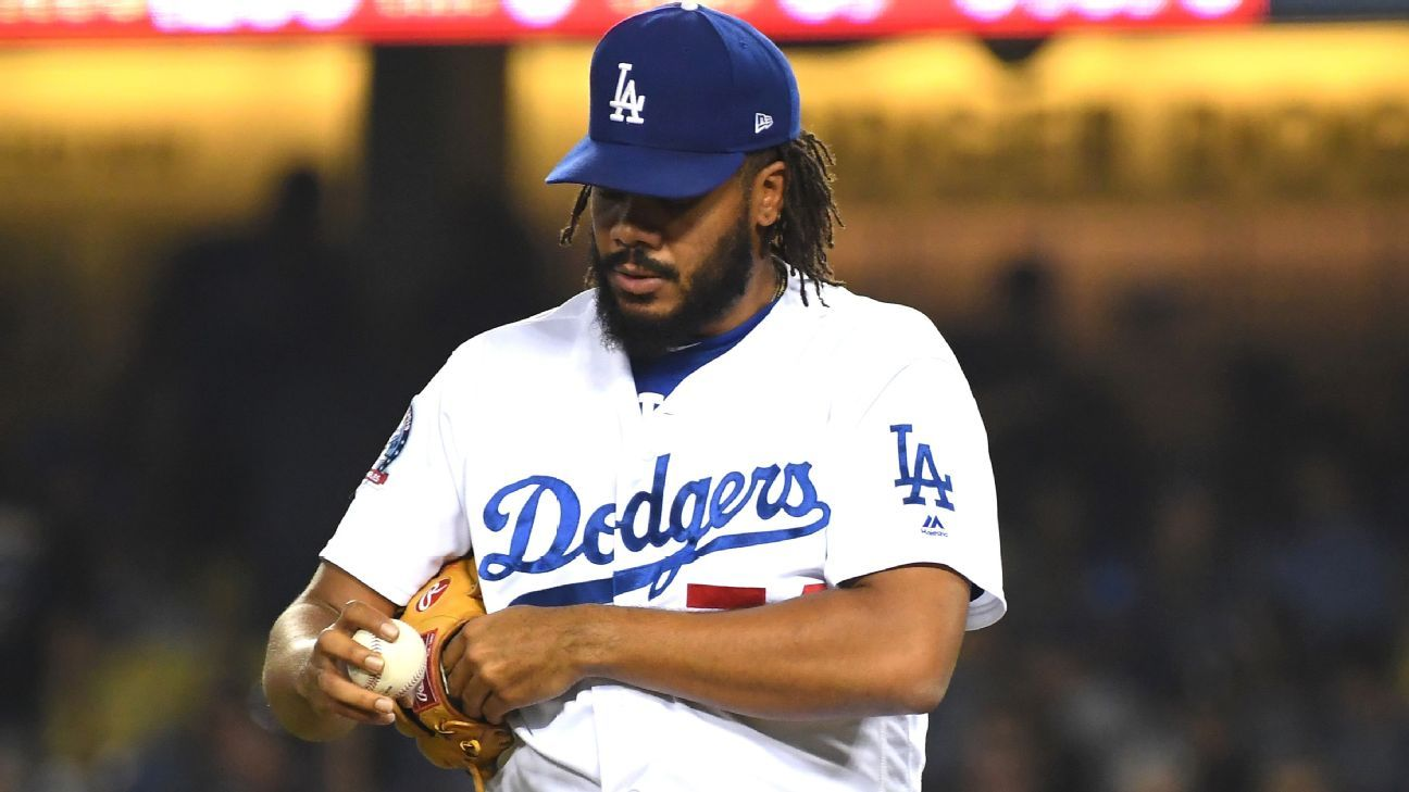 89df6262533 Kenley Jansen might miss Los Angeles Dodgers  trip to Colorado due to  irregular heartbeat