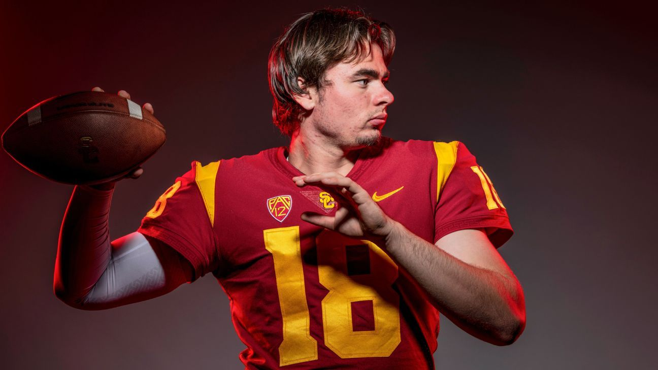 c00c89c85b1 USC s new offense brings new QB competition for JT Daniels