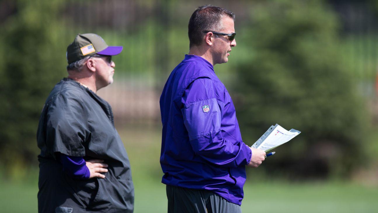 6451897788e9ed Vikings' John DeFilippo carrying on, just like Tony Sparano would -  Minnesota Vikings Blog- ESPN