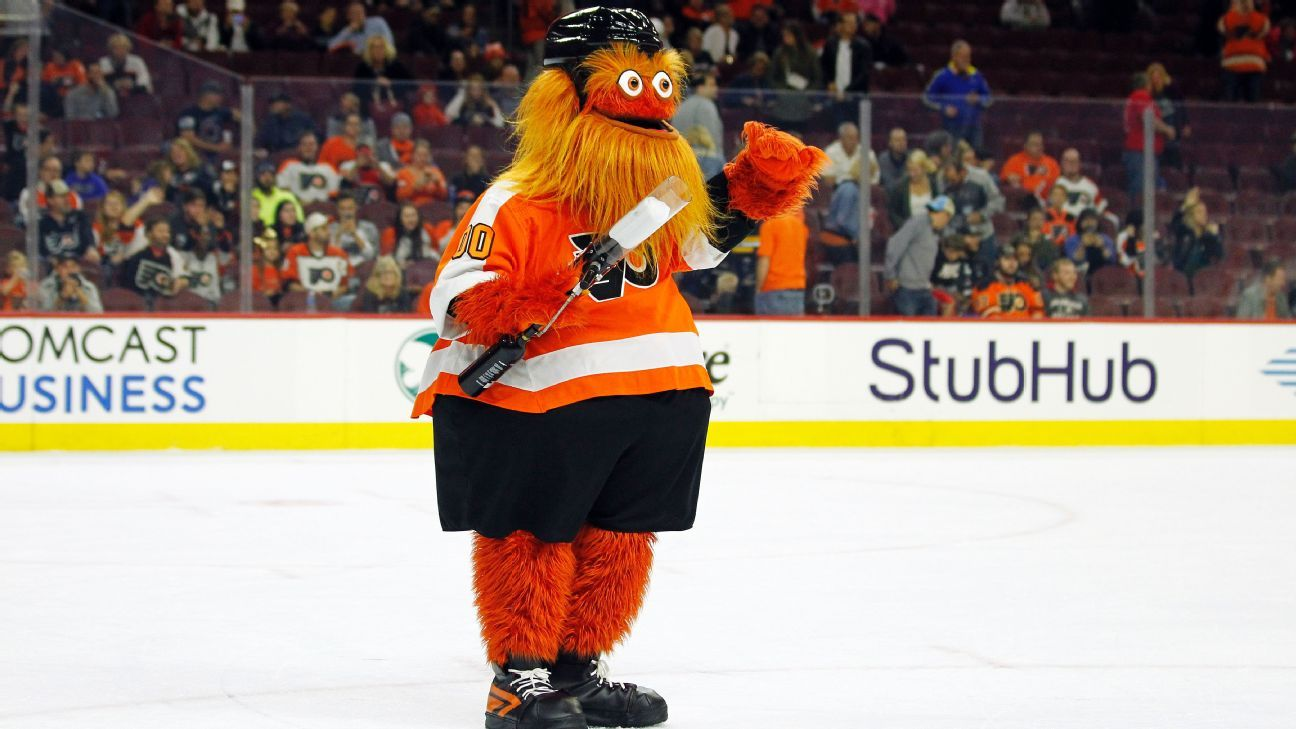 35c921a6225 NHL - Ranking every mascot, from Bailey, Gritty and Youppi to Nordy, Victor  E Green and Hunter
