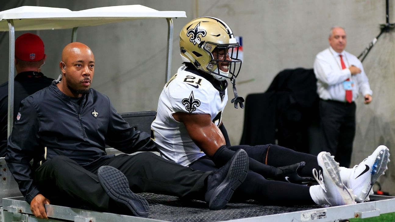 CB Patrick Robinson of New Orleans Saints headed to injured