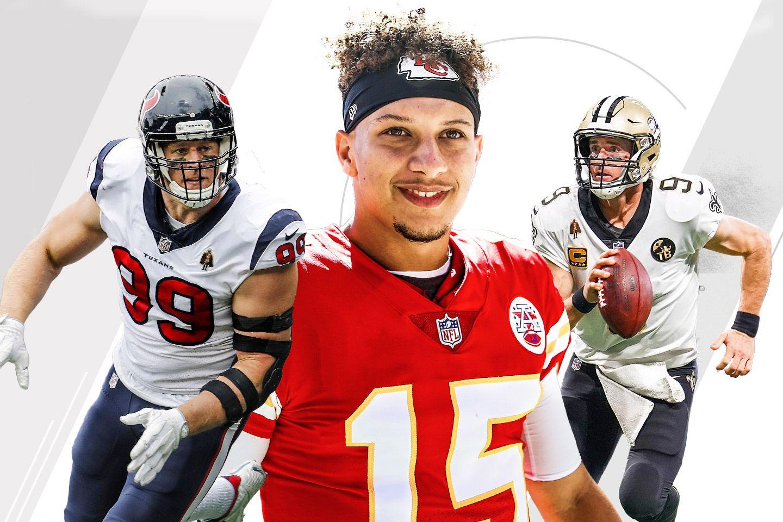 2018 NFL quarter-season awards from Bill Barnwell - Picks for MVP ... 040b98e49