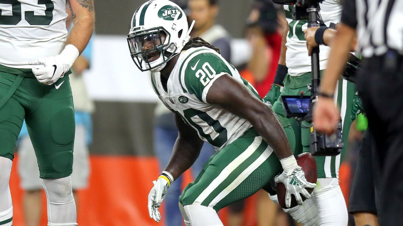 more photos 361f6 63848 Butt of controversy: New York Jets' Isaiah Crowell a ...