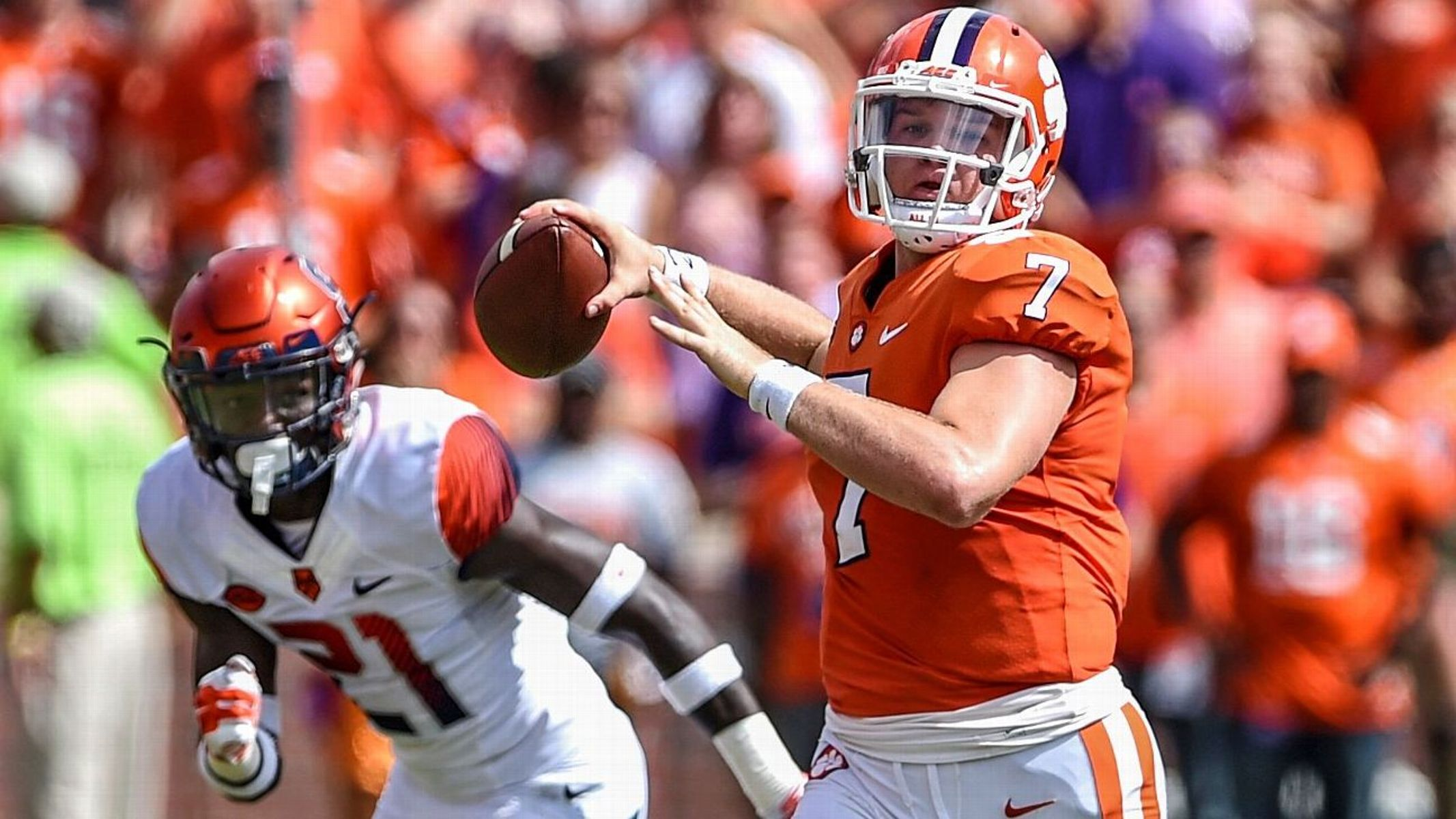 Ex-Clemson backup QB Brice transfers to Duke
