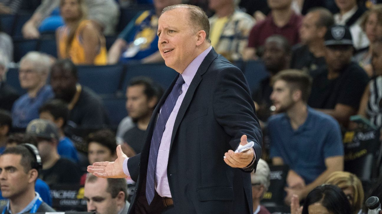 Timberwolves fire president and coach Thibodeau