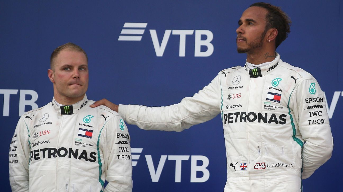 Mercedes would have been stupid to let Valtteri Bottas beat Lewis ... f77205928