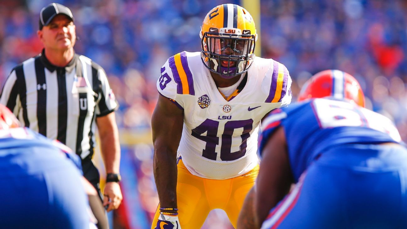 Devin White, Drew Lock are Giants' most likely picks in first round