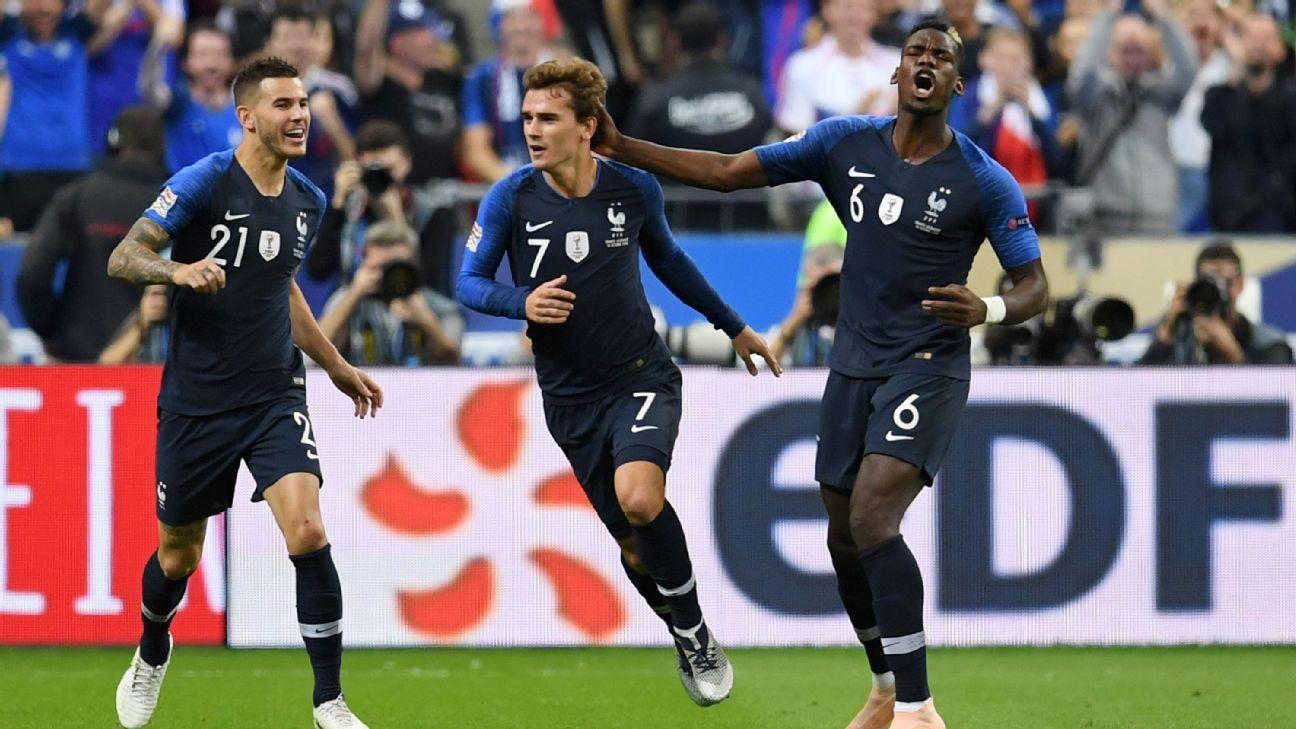 Frankreich Vs Deutschland