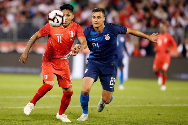 31c617630 United States vs. Peru - Football Match Report - October 16