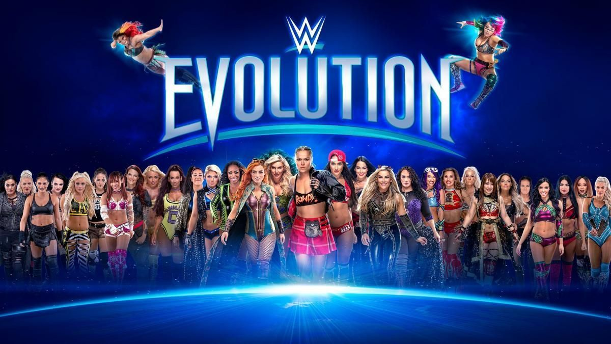 82354801aa9f WWE - Evolution results