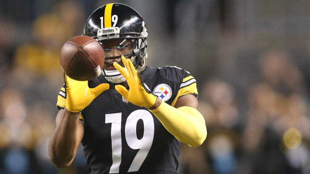 JuJu -- Chemistry in Steelers' WR room 'on point'