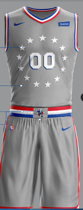 Sixers News Philly Reveals New City Edition Jerseys Inspired By Rocky