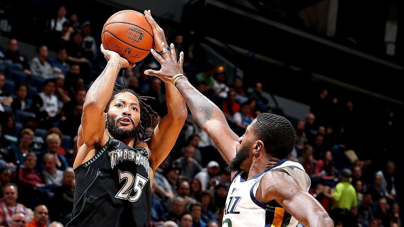 Derrick Rose scored 50 points and NBA players loved it