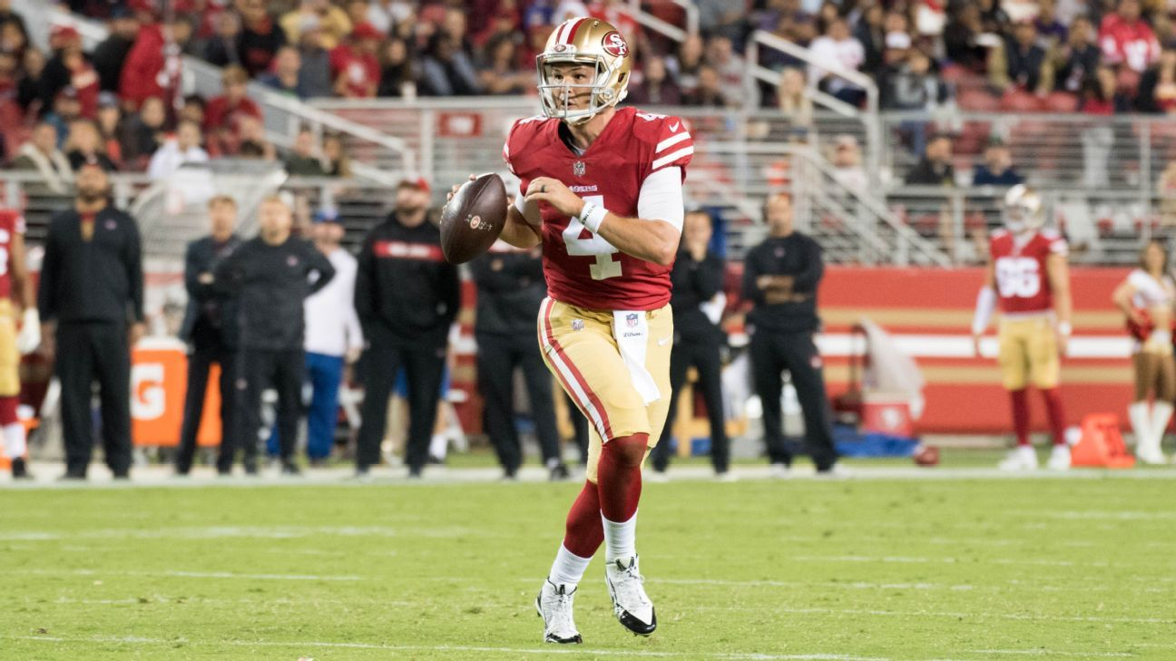 51d5e30a San Francisco 49ers to start Nick Mullens at quarterback vs. Oakland ...