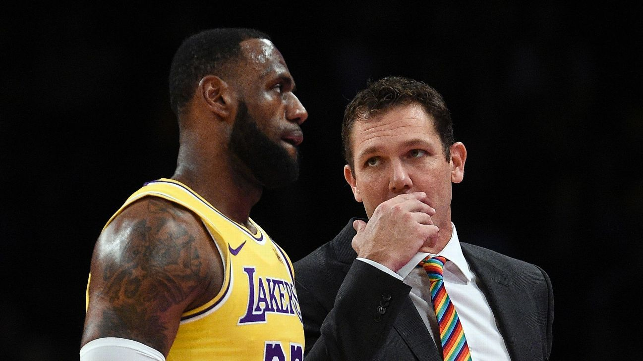 LeBron James says Luke Walton did all he could with Lakers