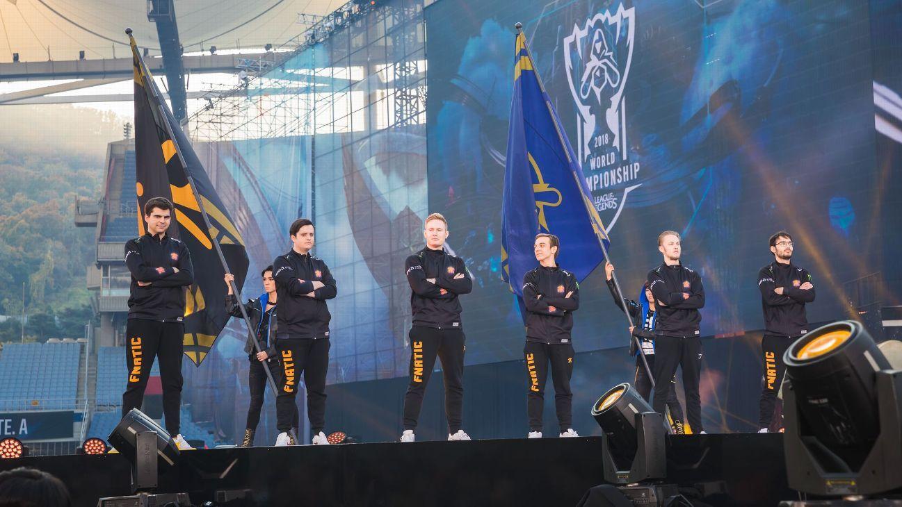 Billedresultat for fnatic in worlds finals 2018