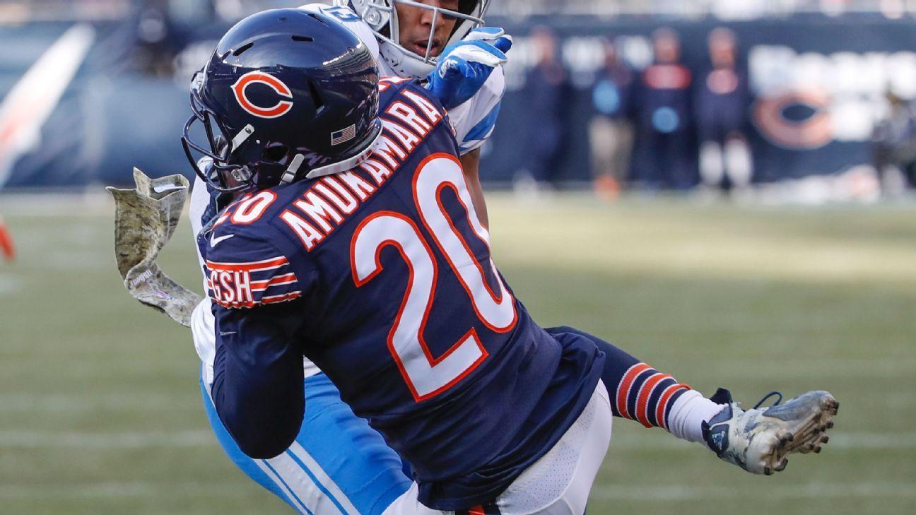 87a69de7 Chicago Bears spell Prince Amukamara's name wrong on jersey