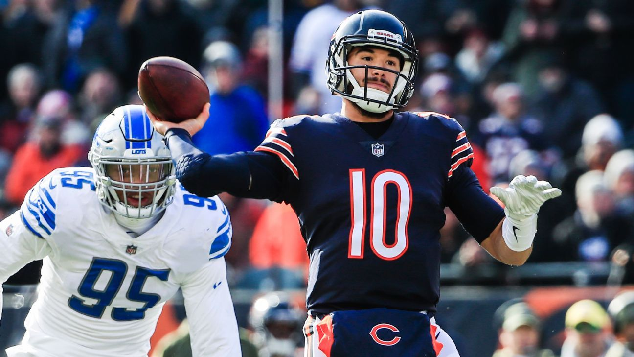Chicago Bears to start QB Chase Daniel vs. Detroit Lions 588725167