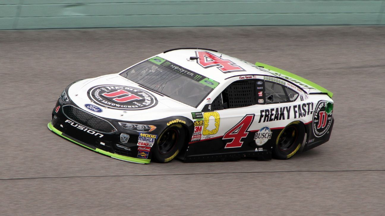 2018 NASCAR Cup Series Paint Schemes - Team #4 Stewart Haas Racing