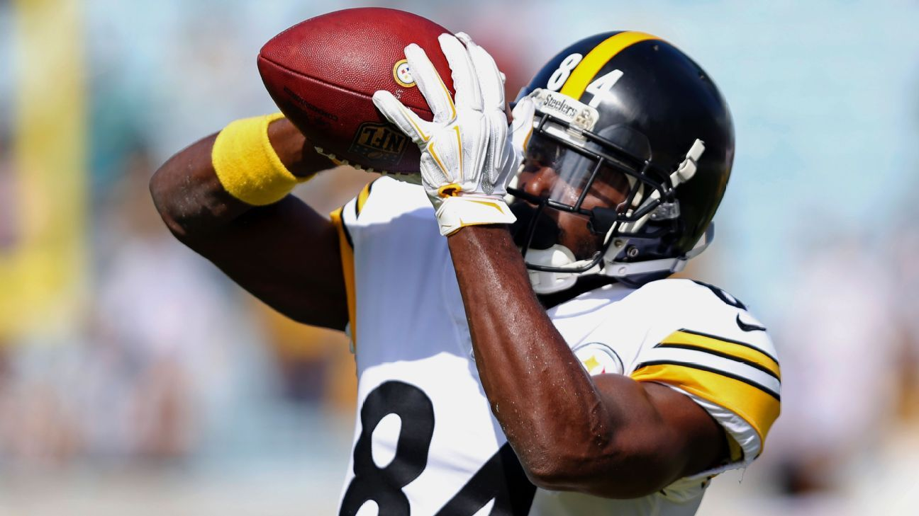 The Bills and Steelers discussed a trade involving star wide receiver Antonio Brown this week but a deal never materialized.