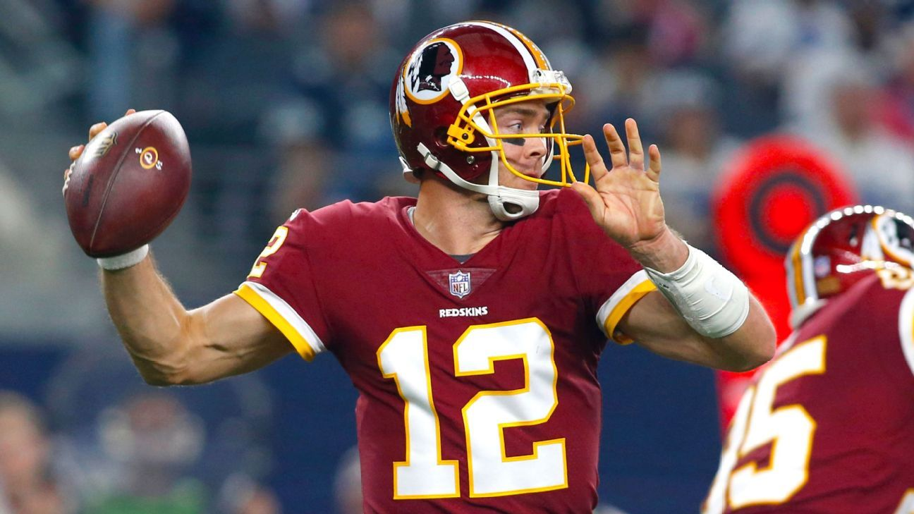 Alex Smith s uncertain recovery makes Redskins a QB wild card - Washington  Redskins Blog- ESPN 49f2cb6c0