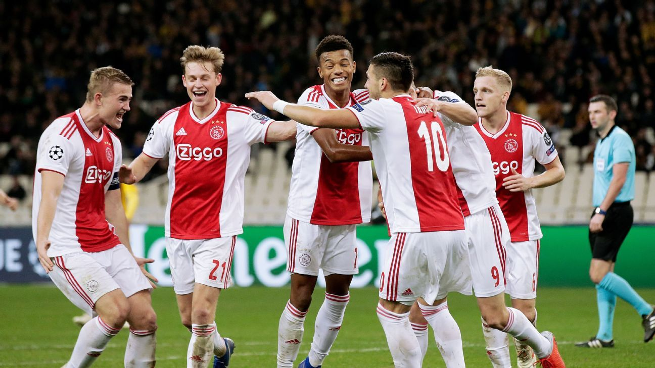 Ajax all but guaranteed Eredivisie title as PSV's lights ...