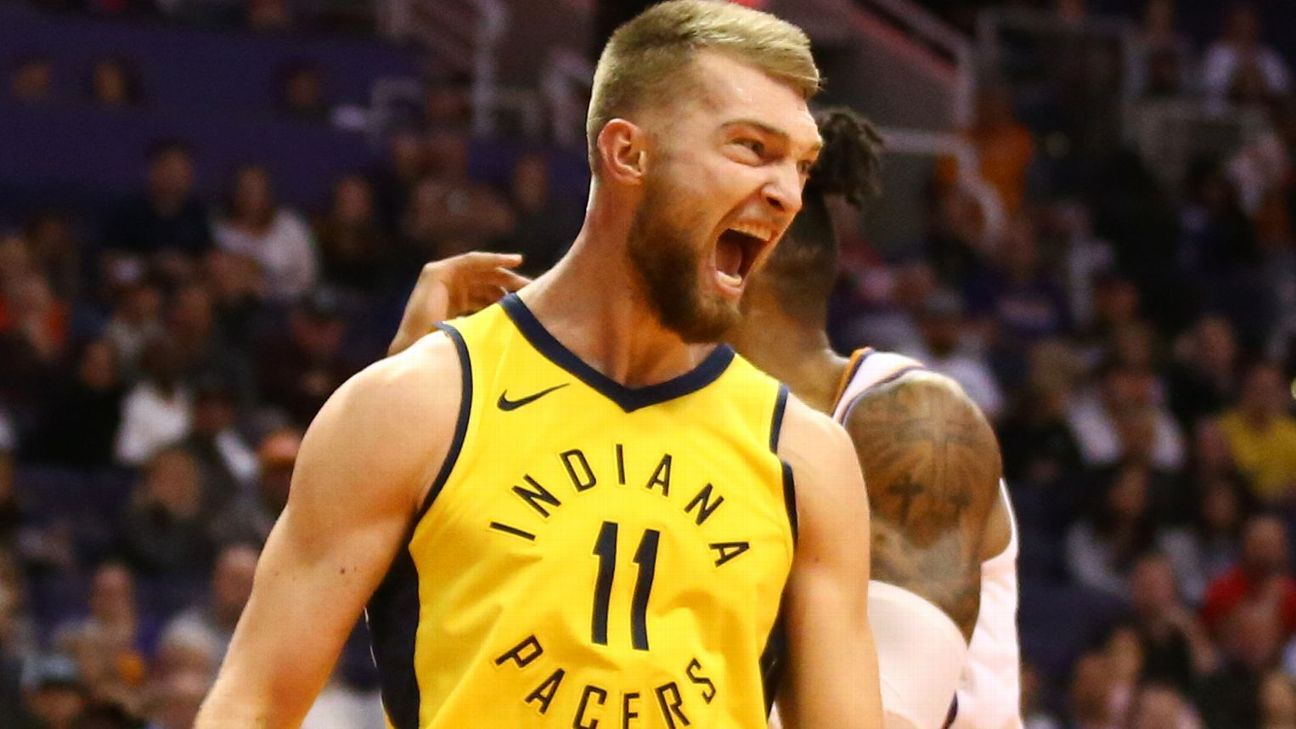 Domantas Sabonis agrees to 4-year, $77 million deal with Pacers