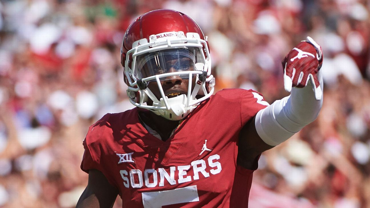 Sources: WR Brown out for combine, OU pro day
